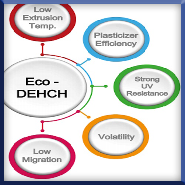 Diethyl Hexyl Cyclohexane Eco Dehch Plasticizer